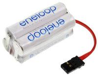 4-zelliger Eneloopakku micro mit Stecker Syst. Grp,...