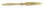 Fiala 2-Blatt 22x18 Elektro Holzpropeller - natur