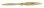 Fiala 2-Blatt 24x12 Elektro Holzpropeller - natur