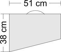 Höhenrudertasche für Modelle bis 1.8m Spannweite