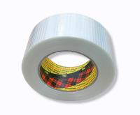Filamentklebeband, Kreuzgewebe 50m, 50mm breit