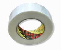 Filamentklebeband, Kreuzgewebe 50m, 38mm breit