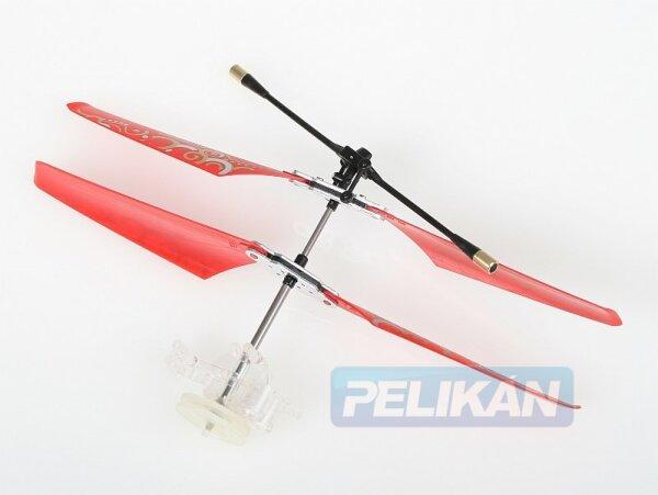 Rotorkopf mit Shaft passend zu Nanocopter Rot