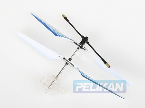 Rotorkopf mit Shaft passend zu Nanocopter blau