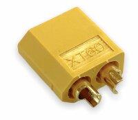 XT60 Präzisions-Hochstrom Stecker, kurzschluss- und verpolungssicher