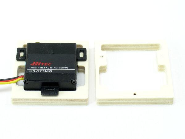 6mm Servohalter für  HS125 und HS5125  (VE 2 Stück)