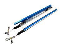 HEPF Elektrische Störklappen 300mm (Paar) 7,4V blau...