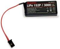GRAUPNER SENDERAKKU LIPO 1S2P/3000 3,7V