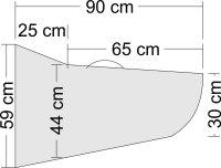 Tragflächentasche für Wind S Pro und Mytho S Pro