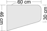 Tragflächentasche für Kunstflugmodelle bis 2,60m Spannweite