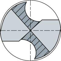 3,2 mm MAYKESTAG Spiralbohrer DIN1897PZ HSS-Co5 extra kurz Bohrer