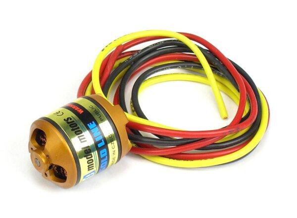 AXI 2217/20 mit 60cm langen Kabeln und kurzer Welle