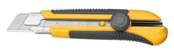 Profi-Cuttermesser mit Fixier-Rändelschraube, Klingenbreite 25mm
