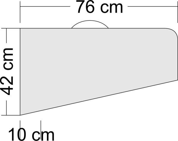 Tragflächentaschen für Modell bis 1,6m Spannweite