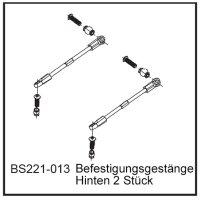 Befestigungsgestänge Hi (2 Stück) - BEAST BX / TX