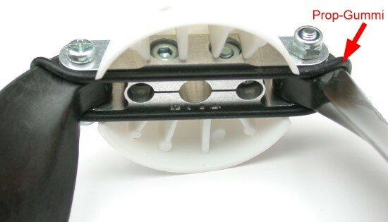 Prop-Gummi XL für HE Mittelteile 55-68mm (4 Stück)