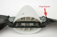 Prop-Gummi S für HE Mittelteile 35-41mm (4 Stück)