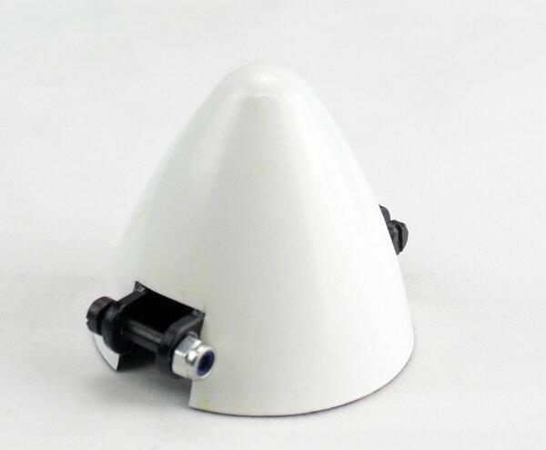 CFK Spinner D 48, Welle D 4mm ohne Kühlloch