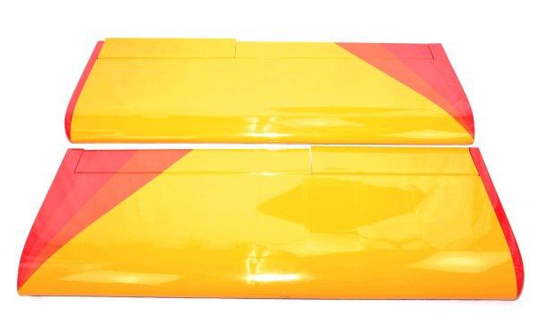 Flächenpaar passend zu Maule  MT-7-420 280cm rot