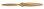 Fiala 2-Blatt 23x14 Verbrenner Holzpropeller - natur