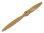 Fiala 2-Blatt 25x16 Verbrenner Holzpropeller - natur