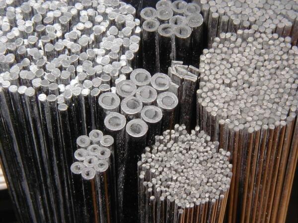 Kohlefaserrohr 10,0mm/8,0mm , 1000mm lang