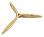 Fiala 3-Blatt 19x16 Verbrenner Holzpropeller - natur