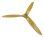 Fiala 3-Blatt 21x16 Verbrenner Holzpropeller - natur