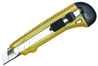 Cuttermesser, 18mm Klinge mit Metallführung