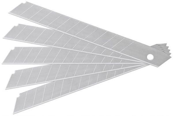 5 Ersatzklingen für Cuttermesser mit 18mm Klingenbreite