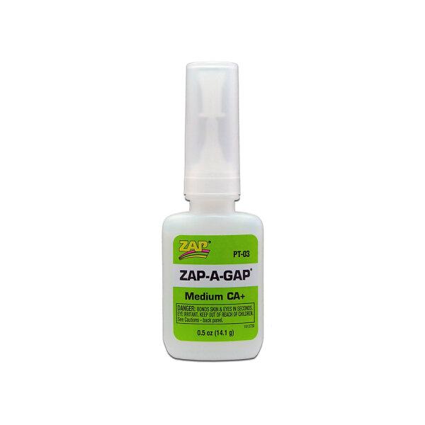 ZAP-A-GAP PT-03 Sekundenkleber, mittelflüssig, 14,1g