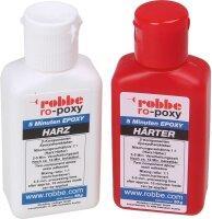 ROBBE RO-POXY 5 MINUTEN EPOXYDHARZKLEBER 100G JE 50G...