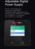 ISDT P10 Dual Smart Charger 1-6A 250W (x2) 10A (2x)...