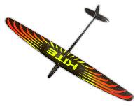 E-Kite CFK 1500 gelb orange mit Schutztaschen
