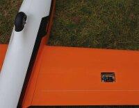 Robbe Modellsport MDM-1 FOX 3,5M Segler PNP voll GFK/CFK lackiert orange Kunstflug-Segelflugzeug