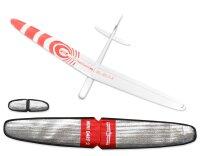ARF Mini Dart 2 DLG GFK Lachs 1000mm inkl. Schutztaschen