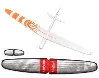 ARF Mini Dart 2 DLG GFK Orange 1000mm inkl. Schutztaschen