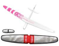 ARF Mini Dart 2 DLG GFK Pink 1000mm inkl. Schutztaschen