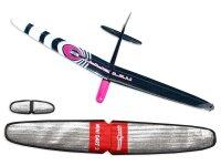 ARF Mini Dart 2 DLG strong Pink CFK 1000mm inkl....
