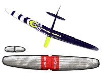 ARF Mini Dart 2 DLG strong Gelb CFK 1000mm inkl....