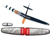 ARF Mini Dart 2 DLG strong Orange CFK 1000mm inkl....