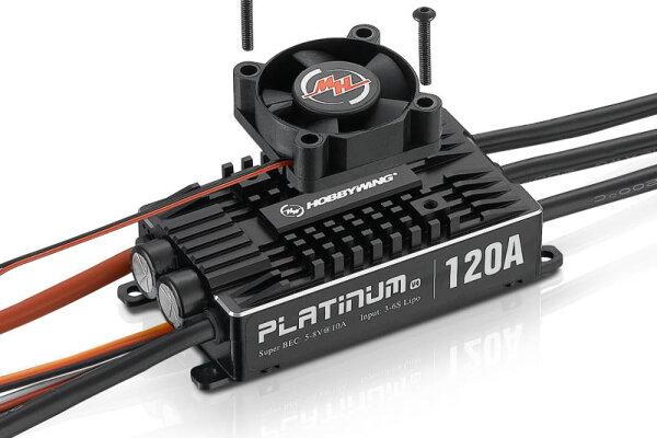 Platinum Pro 120A Regler V4 3-6s, 10A BEC