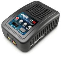 e450 AC Ladegerät NiMh 6-8 / LiPo 2-4s 1-4A 50W