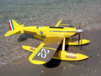 Sebart Macchi MC72 50E gelb/gold Fertigmodell