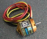 AXI 2217/32 mit 60cm langen Kabeln und kurzer Welle