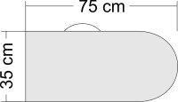 Flächenschutztasche für Modelle bis 1.60m...