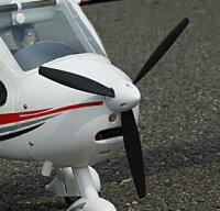 3 Blatt Spinner für Flight Design CTLS 1200mm