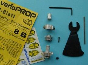 Varioprop 4 Blatt Einstellnabe, Grösse 8B, 4mm