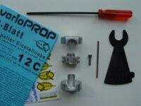 Varioprop 2 Blatt Einstellnabe, Grösse 12C, 8mm Bohrung