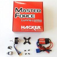 Hacker Brushless Set Master Force 2826CA-11 KV 1500 &...